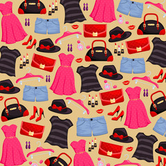 Fashion item Background