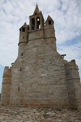 Façade tournée vers la mer: Notre-Dame de la Joie.
