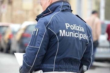 Polizia Municipale al lavoro