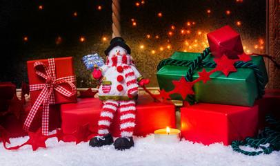 Weihnachtsgeschenke, Weihnachtsdekoration