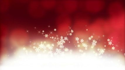 Christmas sparkles red background