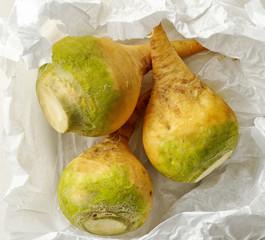 Fresh raw rutabaga