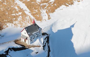 Church, Alps, Pilatus, Lucerne, Switzerland
