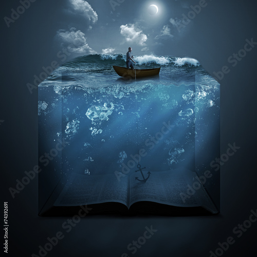 Anchor and Bible - 74392691