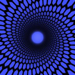 spiral hexagons