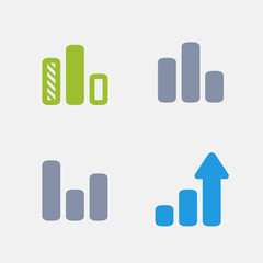 Column Graphs | Granite Alternative Icons