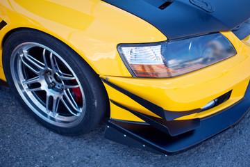 Sport car's headlight