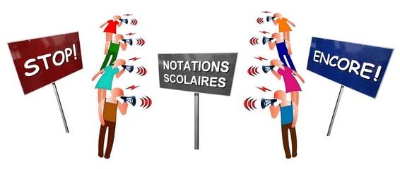 """Débat  """"Notations scolaires: stop ou encore"""""""