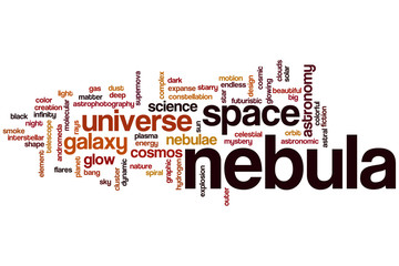 Nebula word cloud