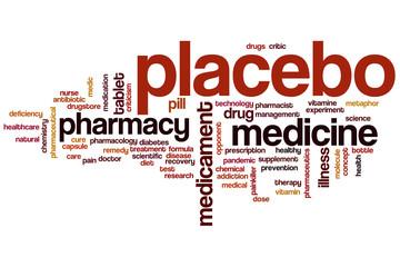 Placebo word cloud