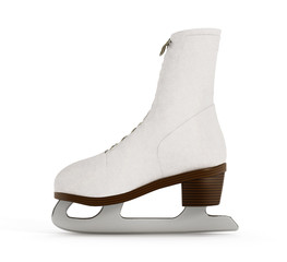 Woman ice skate