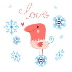 in love bird