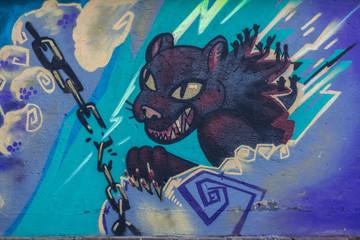 Graffiti felino