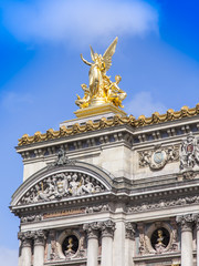 Paris, France. Typical urban view. Architectural details