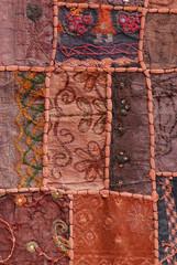 Traditional Yemeni textile  pattern, Sana'a city, Yemen.