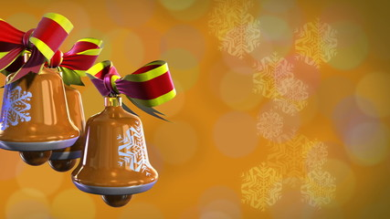 Christmas bells  rotate (backgrounds)
