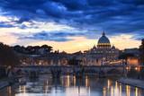Saint Peter under dark clouds - 74397298