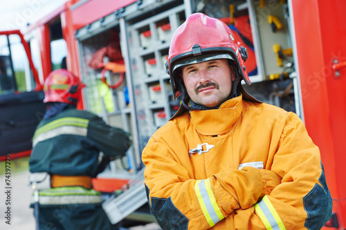firefighter crew - 74397279