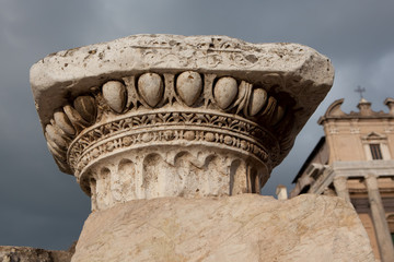 Column in Roman Forum