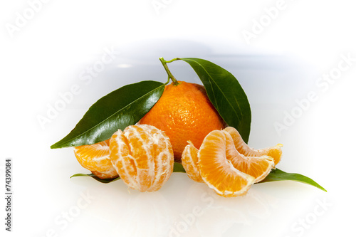 canvas print picture tangerine