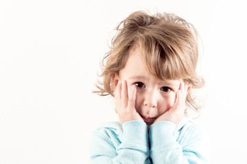 Worried child