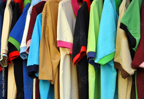 Camisetas, casual, mercadillo - 74400420