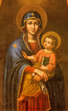 Seville - Madonna in Iglesia de Santa Maria Magdalena
