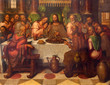 Bruges - The Last supper  in st. Giles church