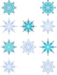 Снежинки - 2