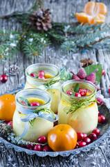 Christmas creme brulee