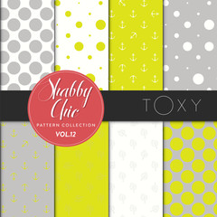 Shabby Chic Pattern Collection - Toxy