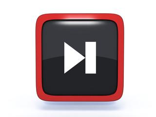 next square icon on white background