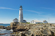 Boston Lighthouse on a nice clear day
