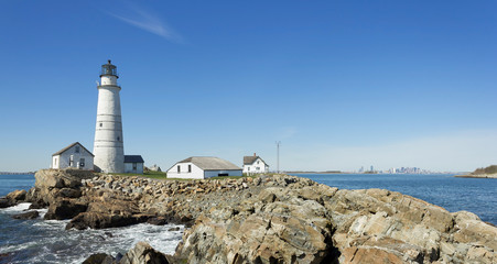 Boston Lighthouse Panorama