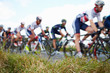 Abstract View Of Competitors In Cycle Race - 74406243