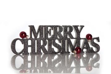 Merry Christmas Schriftzug