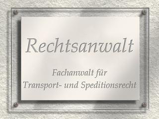 Rechtsanwalt für Transport- & Speditionsrecht