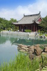 Chinese Garden, Botanical garden Montreal