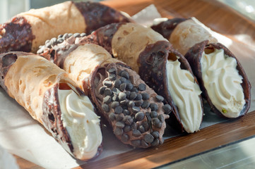 Cannoli in Italy