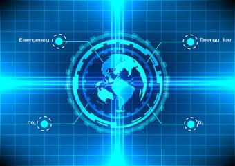 world energy technology background