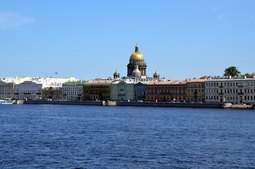 English Quay in Saint Petersburg