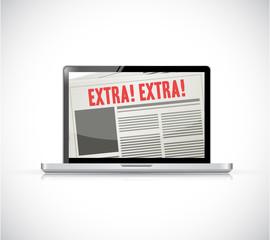laptop extra news online