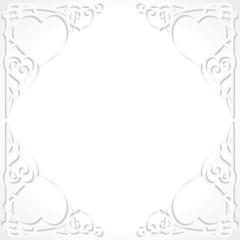 hearts wedding frame border Herzen Rahmen