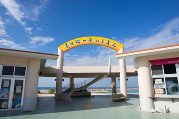 沖縄のビーチ・美々ビーチ