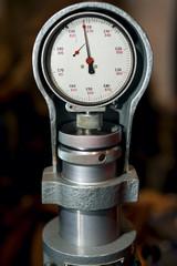 Firmly meter meter closeup