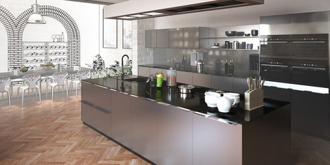 Luxury Kitchen Project (construction)