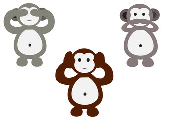 monkeys cartoon