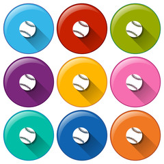 Circle buttons with small balls