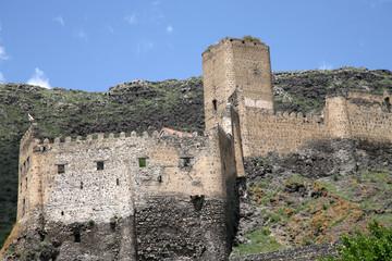 Khertvisi Castle ruins