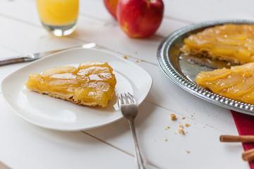 French tart tatin